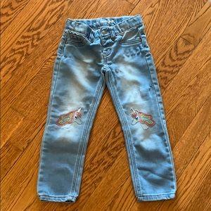 Unicorn jeans size 4T
